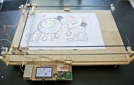 Arduino Blog » Blog Archive » A painting machine sensing your touch | Heron | Scoop.it
