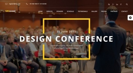 NRGevent - Conference & Event WordPress Theme | Front End Development | Scoop.it