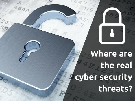 Where are the real cybersecurity threats? | IT Support and Hardware for Clinics | Scoop.it