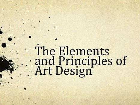 Elements and Principles of Art & Design Worksheets | Elements of Art | Scoop.it
