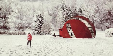 Passer la nuit dans un origami. | Design, Innovation et Marketing | Scoop.it