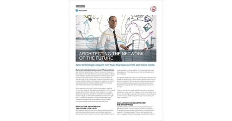Architecting the Network of the Future, Free F5 Networks White Paper | Career | Scoop.it