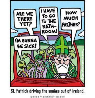 The Ironic Catholic: Happy St. Patrick's Day.... | The Amused Catholic: an Ezine | Scoop.it