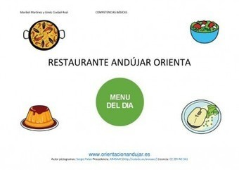 Menú del día en el Restaurante Andújar Orienta Trabajamos las CCBB | Orientacion AndujarOrientacion Andujar | educación | Scoop.it