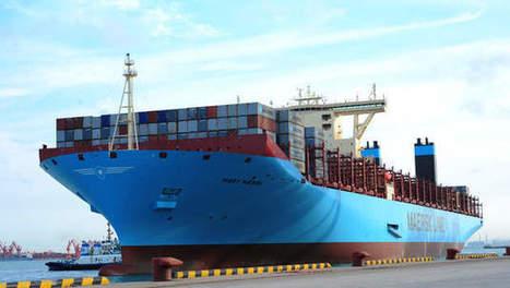 Antwerpse haven ontvangt grootste containerreus ter wereld   Stakeholders   Scoop.it