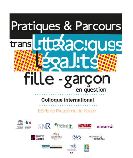 Colloque international : (Trans)littéracie - ESPE Académie de Rouen - Université de ROUEN | Egalité Filles Garçons | Scoop.it