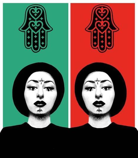 Tribal Mysticism: Fatima Saved My Alter Ego | IMOW Muslima | Contemporary Middle Eastern Art | Scoop.it