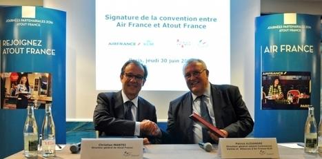 Atout France et Air France renforcent leur coopération | Agence Ouest Cornouaille Développement Tourisme | Scoop.it