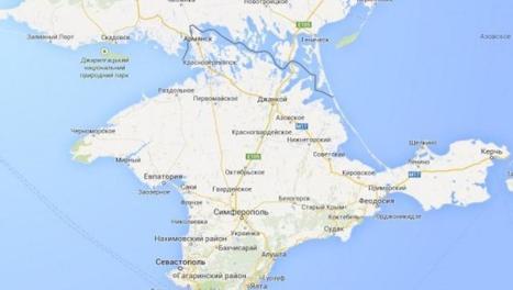 Google Maps rattache la Crimée à la Russie dans sa version russe - France - RFI | Frontières et espaces frontaliers dans le monde. | Scoop.it