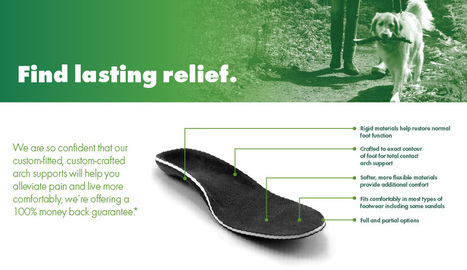 Arch Supports | Foot Solutions | footsolutions.com | Health | Scoop.it