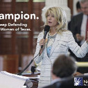 Share to show support for @WendyDavisTexas, a true champion for women. #LetHerSpeak #StandWithWendy #SB5 - via @NARAL | Coffee Party Feminists | Scoop.it