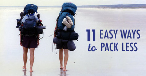 11 Easy Ways to Pack Less | Interesting Reading | Scoop.it