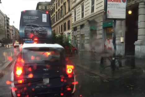 Stop mezzi pubblici e pioggia, inferno traffico a Roma   My city Rome   Scoop.it