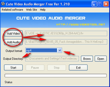 Merge Audio and Video with Cute Video Audio Merger | The *Official AndreasCY* Daily Magazine | Scoop.it