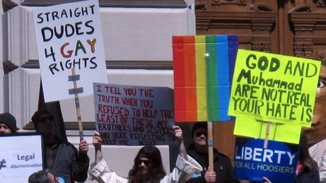 Indiana's anti-gay law sparks protest, condemnation | Law and Religion | Scoop.it