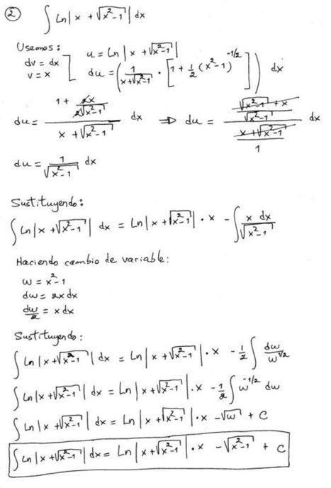 Técnicas de integración | Matemática II | Scoop.it