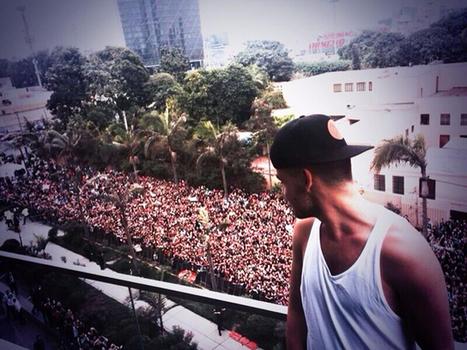 Miles de fans peruanos acompañaron a One Direction en hotel - Rpp   Mis favoritos   Scoop.it