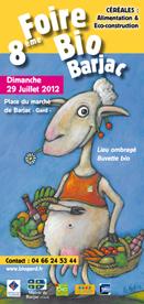 BARJAC : 8ème foire bio, ce dimanche 29 juillet 2012 | Objectif Gard | Eco-tourisme | Scoop.it