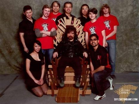 Tyrion Lannister y el Trono de Cartón - Soy Carton Banks | Carton Banks | Scoop.it