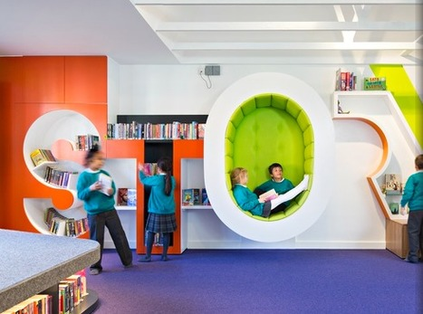 School libraries shelve tradition to create new learning spaces | Librarians in the real world | Scoop.it