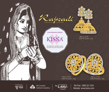 Presenting The Rajwadi Traditional Collection<br/>~ www.kisna.com   Gold Diamond Jewellery Designs   Scoop.it