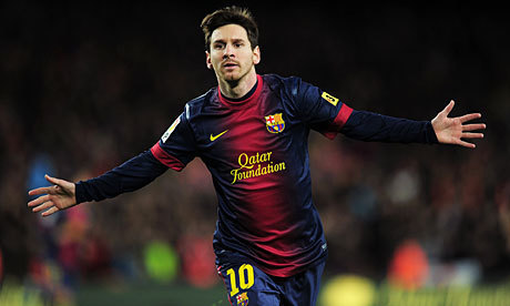 UPDATE 1-Soccer-Messi's hamstring injury not as bad as feared - Yahoo! News | Living Alongside Soccer | Scoop.it