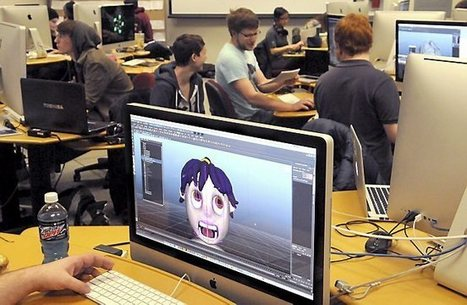UW-Stout students get taste of 3D animation careers on LA field trip - Pioneer Press | Machinimania | Scoop.it