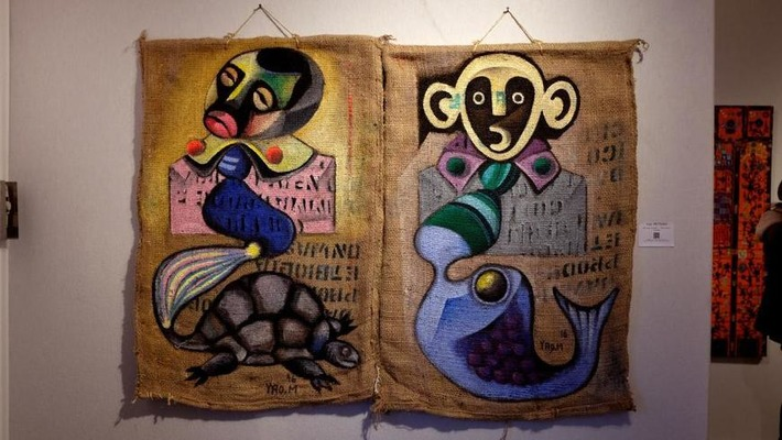 Salon d'Automne de Paris: «Je suis l'artiste Yao Metsoko» | Art Contemporain Africain | Kiosque du monde : Afrique | Scoop.it
