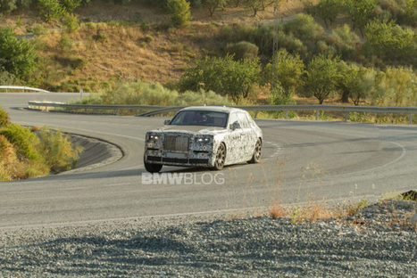 Video: 2018 Rolls-Royce Phantom Spied Out Testing | Business Video Directory | Scoop.it