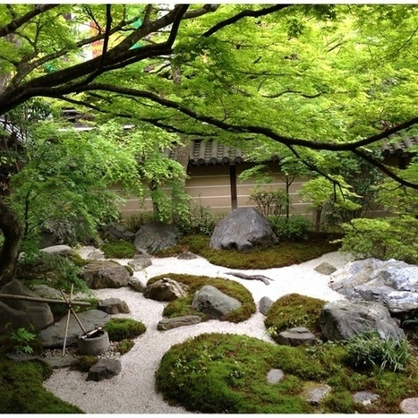 japanese traditional garden. #kyoto Discovered... | A Love of Japanese Gardens | Scoop.it