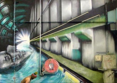 Une fresque de vie sur un silo | Photogaphie | Scoop.it