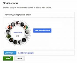 Google+ Update: Share Your Favorite Circles | GooglePlus Expertise | Scoop.it