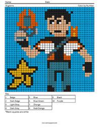 Megapixel Coloring | Coloring Squared | Scoop.it