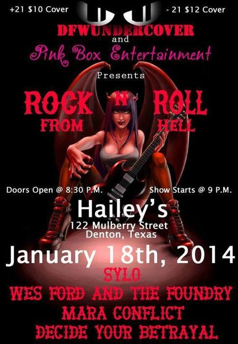 Pink Box Entertainment Cherry Poppin' Metal Bash | Facebook | Texas Metal Scene | Scoop.it