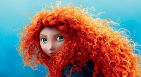 Rebelle : pourquoi Merida est-elle la première héroïne aux cheveux bouclés de Disney ?   The Blog's Revue by OlivierSC   Scoop.it