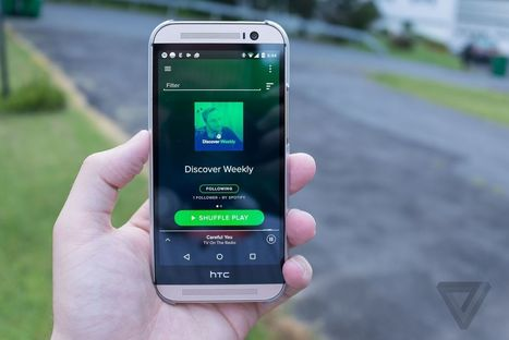 Spotify's Discover Weekly reaches 40 million users and 5 billion tracks streamed | Digital Music | Scoop.it