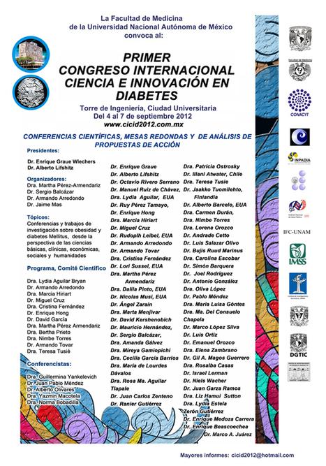 1er Congreso Internacional de Diabetes | Psicologia de la Salud | Scoop.it