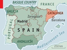 Centrifugal Spain: Umbrage in Catalonia - The Economist | AP Human Geography Digital Knowledge Source | Scoop.it