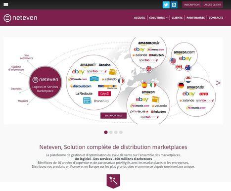 [Solutions] Neteven intègre 8 nouvelles marketplaces françaises | e-commerce  - vers le shopping web 3.0 | Scoop.it