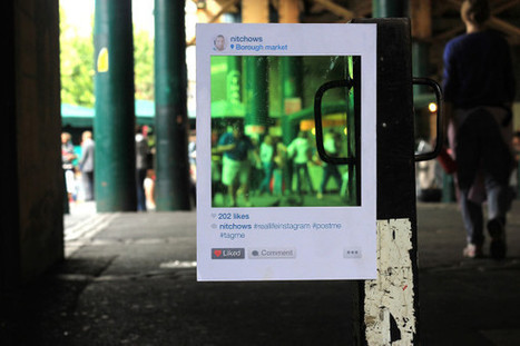 Real Life Instagram by Bruno Ribeiro: Bringing The Popular Photo App to Life   Meet Green & Cheers!   Scoop.it