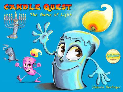 Kickstarter Alert: Candle Quest is a Family Game for Hanukkah | GeekDad | Scoop.it