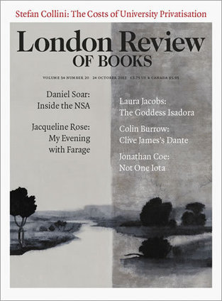 LRB · Stefan Collini · Sold Out: The Costs of University Privatisation   (Higher) Education & Technology   Scoop.it
