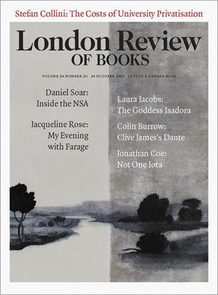 LRB · Jonathan Coe · Clutching at Railings: Late Flann O'Brien | The Irish Literary Times | Scoop.it