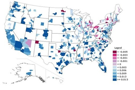 Census Estimates: Slowing Metropolitan Growth and the Future of the Exurbs   Newgeography.com   Sustainable Futures   Scoop.it