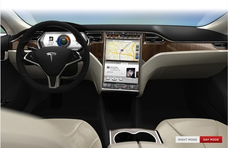Updated: Will the Tesla Model S be the Next Great Mobile Apps Platform? | ZDNet | Embedded Systems News | Scoop.it