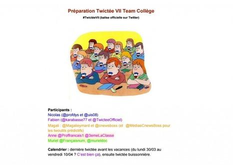 Twictée : l'enseignement de l'orthographe décuplé par Twitter | Avec les élèves... | Scoop.it