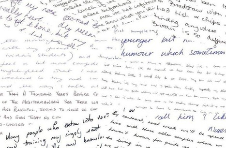 Forget Social Media, It's Your Handwriting That Gives Away Everything About You | Sustain Our Earth | Scoop.it