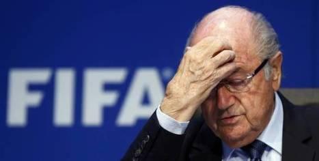 Quatre jours après sa réélection, Blatter démissionne de la présidence de la FIFA | LUC MICHEL - LE BLOG | Scoop.it
