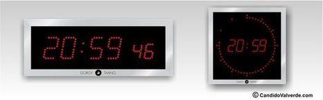 Reloj digital pared - Relojeía - Candido Valverde S.L | Relojeria Industrial | Scoop.it