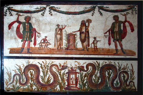Villa Romana de Carranque: El lararium, culto doméstico a los dioses. | Mundo Clásico | Scoop.it